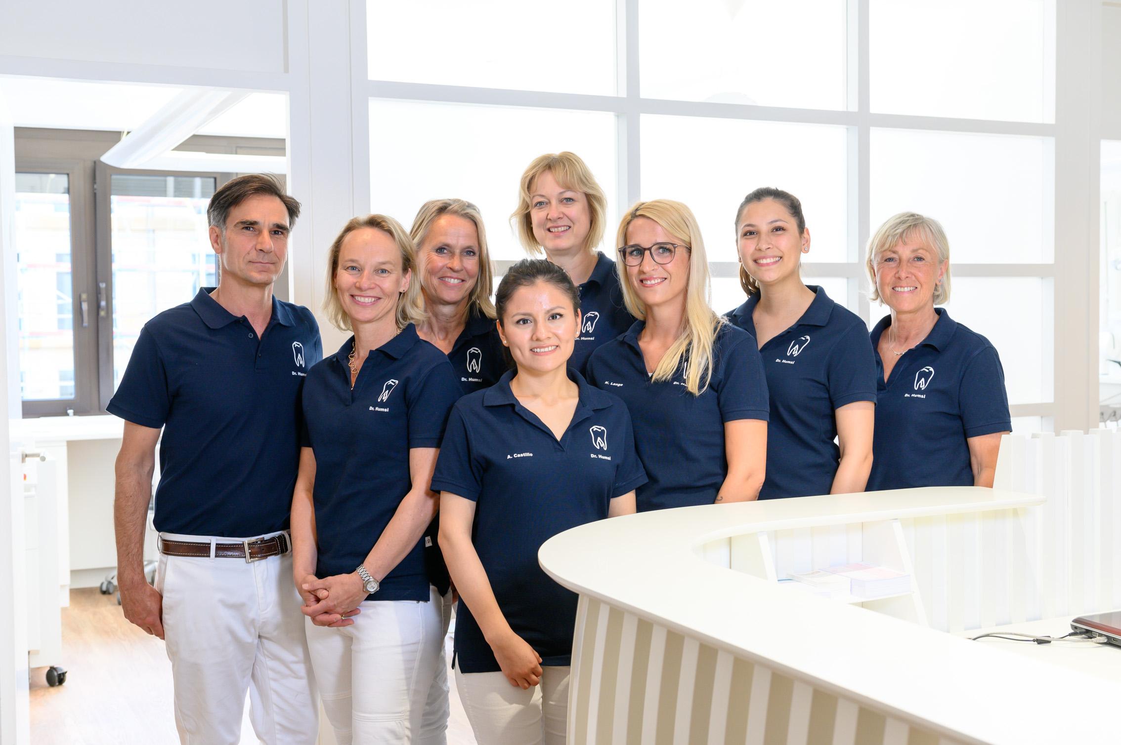 Praxisteam Dr. Humsi, Neuer Wall 39